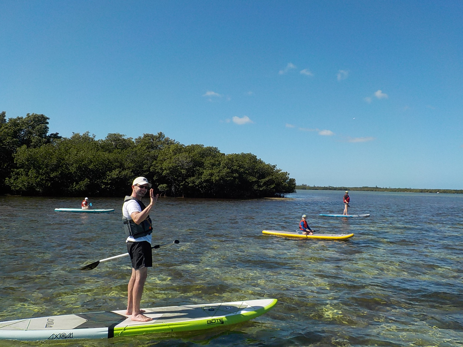 big pine key florida paddle board tour